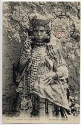 1916, 31.Jul., Ans.-Kte. m. EF. TRESOR ET POSTES TAZA(Feldpost-Handstpl.).